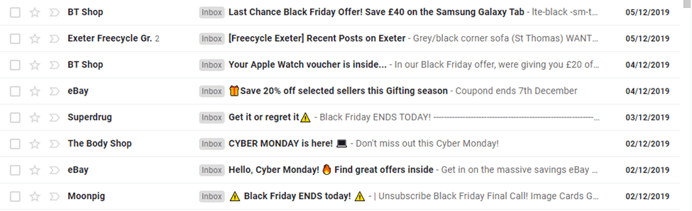 Try emojis in your subject line to draw attention
