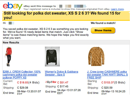 Personalize emails based on website behavior to boost engagement