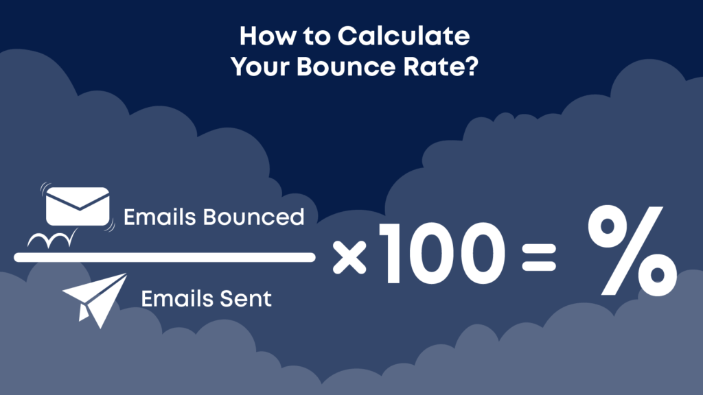 Figuring out your bounce rate is crucial to understand email analytics