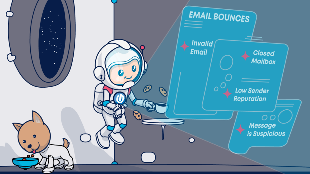 There are many reasons why email bounce backs happen