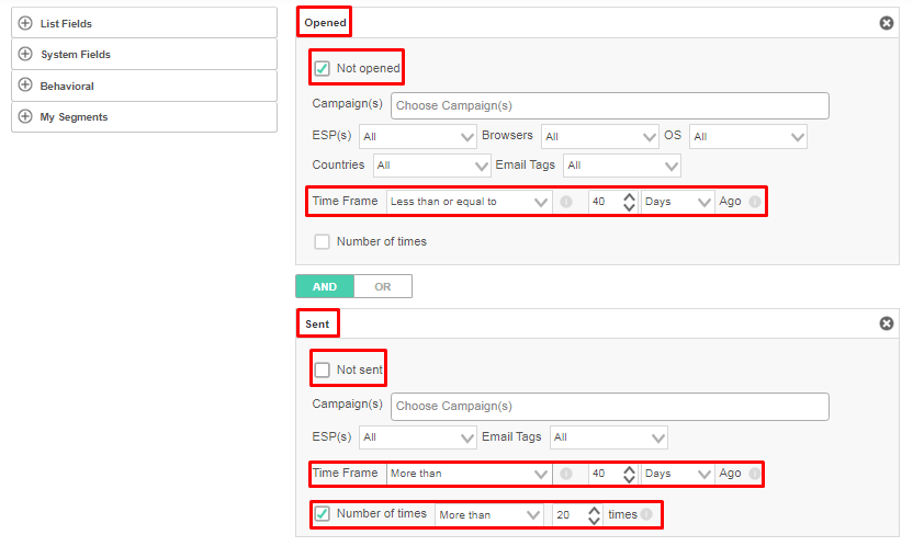 Creating sunset policies will minimize the need for email validation